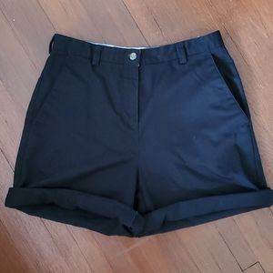 Liz Claiborne Vintage HighWaisted Black Shorts